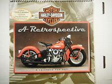 Hallmark Harley Davidson 2001 A Retrospective Calendar VG