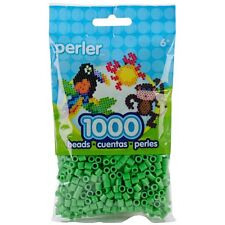 1000 Perler Bright Green Color Iron On Fuse Beads 80-19080