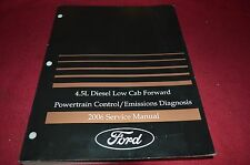 Ford 4.5L Powerstroke Diesel Engine For 2006 Dealer's Shop Manual BAPA