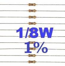 1/% 1//4W 48,7KOHM CONF.100PZ RSS.48,7K RESISTENZA DI PRECISIONE STRATO MET TOLL