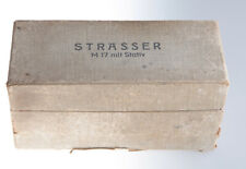 Original antiguo Beyerdynamic/Strasser case para m17 m69 vintage micrófono   c3