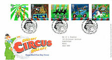 9 APRIL 2002 CIRCUS ROYAL MAIL FIRST DAY COVER BUREAU SHS