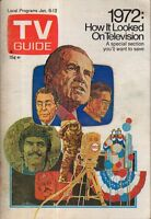 1973 TV Guide January 6 - Year in Pictures 1972; Shelley Winters; MADIGAN