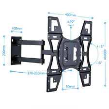 "TV Wall Mount Removable Face Plate Swing Arm Quick Disconnect for 22-50"" LED LCD"