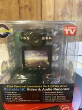 New listing Dash Cam Pro (As Seen On Tv) Portable Hd Video/Audio Recorder - Black New