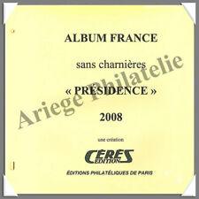 CERES - FRANCE Présidence - Année 2008 - Timbres Courants - AVEC Pochettes