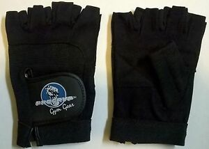 New Men's Progryp All-Star Weightlifting Gloves Washable Amara Leather Size XS