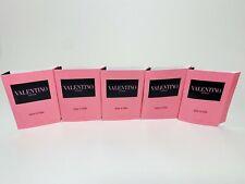 LOT 5 Valentino Donna Born in Roma Eau de Parfum Samples 1.2 mL/ .04 oz X 5 NEW