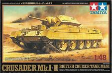 1/48 Tamiya 32541 - British Crusader Mk.I & II WWII Tank  Plastic Model Kit