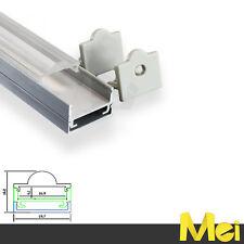 J015 2mt profilo di alluminio con LENTE 60 gradi striscia barra LED 5630 5050