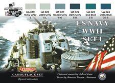 LIFECOLOR LFCS24 US NAVY WWII - SET 1