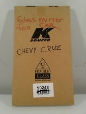 Fit System 90248 Chevrolet Cruze Passenger Side Mirror Glass