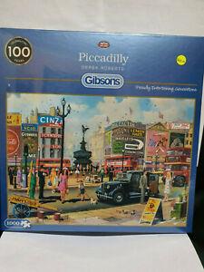 Gibsons G6256 Piccadilly Derek Roberts 1000 pce jigsaw puzzle BNIB