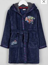Boys Marvel Avengers Bath Robe/Dressing Gown 2-3 Years Old