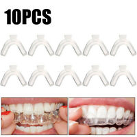 10Pcs Thermo Moldable Mouth Teeth Dental Trays Tooth Whitening Guard Whitener