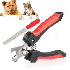 Pet Heavy Duty Nail Clipper Cutter Scissors Dog Cat Rabbit Toe Claw Paw New