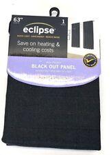 Eclipse Black Out Panel Rod Pocket Samara BLACK 1 Panel