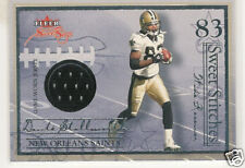 2004 FLEER SWEET SIGS STICHES DONTE STALLWORTH JERSEY