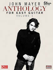John Mayer Anthology For Easy Guitar Volume 1 With Tab Bk (Ez Guitar With Riffs