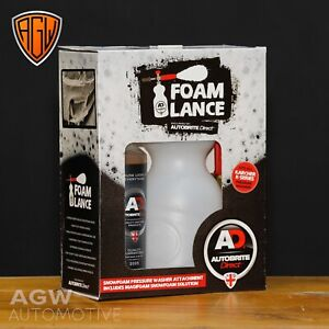 Autobrite Direct - Heavy Duty Snow Foam Lance & 500ml Magifoam - Karcher Fitting
