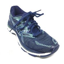 Women's Asics Gel-Nimbus 20 Running Shoes Sneaker Size 7 B Blue Mint Athletic E9