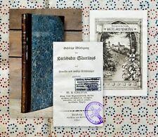 1821 Lampadius Karlsbad Karlovy Vary Chemie Gas Bibliothek Schloss Eulenberg
