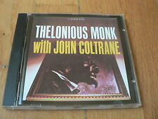 Thelonious Monk With John Coltrane - CD Riverside / Carrere France