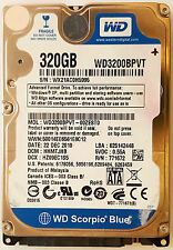 "WD 320 GB 5400 RPM 2.5"" WD3200BPVT SATA Internal Hard Drive"