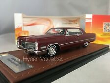 GLM 1/43 CADILLAC COUPE' DE VILLE 1966 RED ART. GLM120101