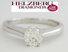 Helzberg Signature 0.52 ct 18K Gold Round Cut Diamond Solitaire Engagement Ring