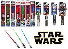 Nuevo Oficial De Star Wars extender sables de luz Darth Vader Yoda Kylo Ren Luke Rey
