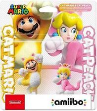 Gatto Mario e pesca Amiibo - Nintendo Interruttore Super Wii U 3ds Figura