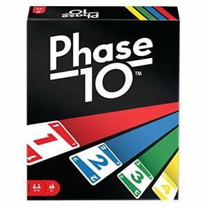 Phase 10 - Kartenspiel von Mattel 2-6 Spieler FPW38