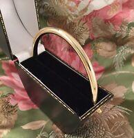 Vintage Jewellery Yellow Gold Golf Bangle fits 22 cm large wrist Mod Jewelry
