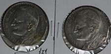 Two Italy Joannes Paulus Pope John Paul II Pont. Max Souvenir Medals