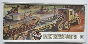 Airfix OO Scale 02301-6 Tank Transporter 1973 Complete Model Kit (B1)
