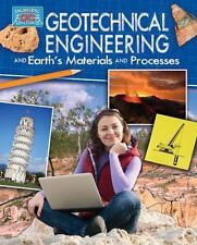 GEOTECHNICAL ENGINEERING AND EARTH'S MATERIALS - REBECCA SJONGER (HARDCOVER) NEW