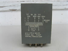 AUDIO OUTPUT TRANSFORMER 16.7V CONTROL TRONICS F227 Tube Amplifier VINTAGE