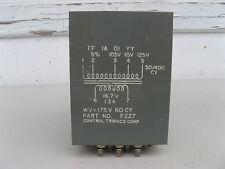 AUDIO OUTPUT TRANSFORMER 16.7V CONTROL TRONICS F227 Tube Amplifier VINTAGE