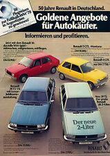 Renault 30ts-r5-gtl-r14-1977 - ADVERTISING-ADVERTISING-Vintage Print Ad-Vintage Publicidad