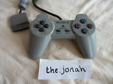 PS1 Official Controller grey control pad Sony Playstation psone tested + working