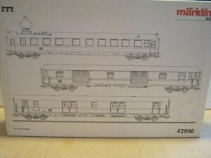 Märklin H0 42996 3er Set Messwagen der DB in OVP