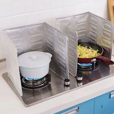 Useful Home Kitchen Stove Foil Plate Prevent Oil Splash Cooking Hot Baffle