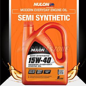 Nulon Semi SYN 15W-40 Everyday Engine Oil 5L for BMW 3 5 6 7 8 Series 635CSi Z3