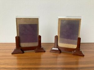 ART DECO photo FRAMES bakelite 1930's