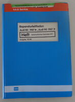 Workshop Manual Audi 80/90 B3 Type 89 Automatic Gearbox 097 Since 1987