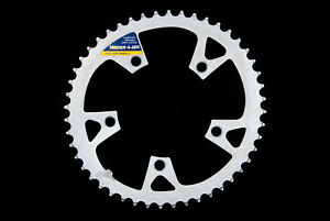 Vintage Shimano Biopace-HP 48T 110BCD alloy chainring, 3oz