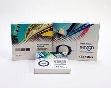 Lee Filters siete 5 Soporte + Lee ND Grad Duro Borde Set + Lee Anillo Adaptador 49mm.