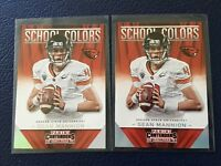 (2) Sean Mannion RC Rams  2015 Panini Contenders SCHOOL COLORS Insert #7