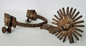 18th Century Spanish Colonial Spur -- 2 15/16 Inch Rowel